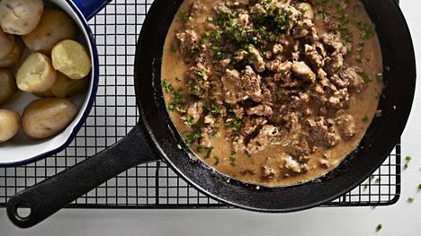 Serko Rantasen jauhelihakastike on kotiruokaa parhaimmillaan.