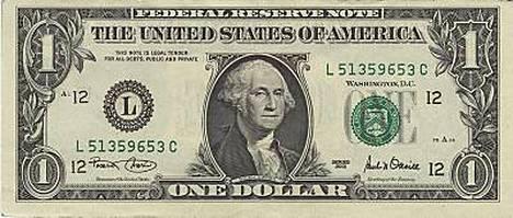 Lähes kaikissa Yhdysvaltain dollarin seteleissä on jälkiä kokaiinista, mikä kielii huumeen suosion lisääntymisestä.