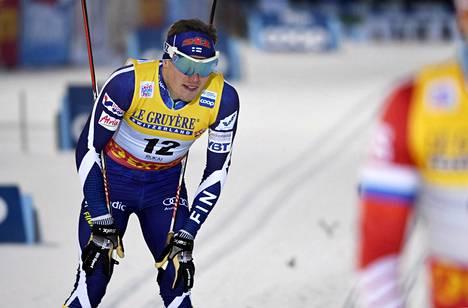 Ari Luusua kilpaili maailmancupin sprintissä Rukalla marraskuussa 2018. Nyt hän keskittyy maratonmatkoihin.