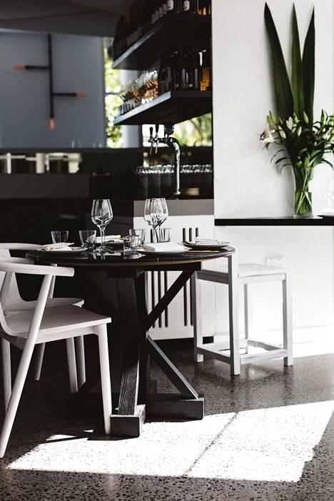 Tomi Björckin Blanca -ravintola Bondi Beachilla Sydneyssä.