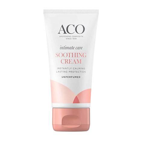 Aco Intimate Care Soothing Cream, 9,75 € / 50 ml, apteekeista.