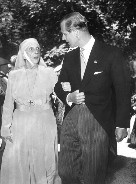 Alice ja Philip Lontoossa tammikuussa 1968.