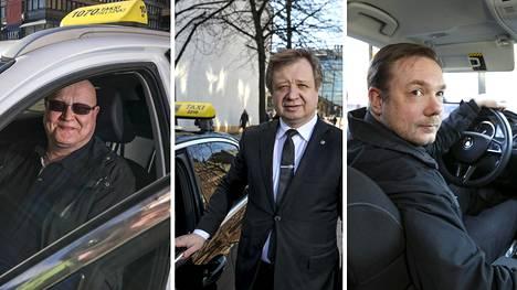Taloussanomien haastattelemat taksinkuljettajat kertovat pitävänsä koronavirustilannetta silmällä.