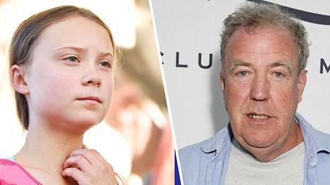 Jeremy Clarkson on arvostellut Greta Thunbergia.