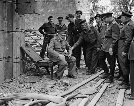 Bunkkeria kävi aikoinaan katsomassa myös Britannian sodanaikainen pääministeri Winston Churchill.