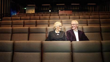 Orvokki ja Aarne Lohman saivat Bio Grani -elokuvateatterin hallintaansa helmikuussa 1985.