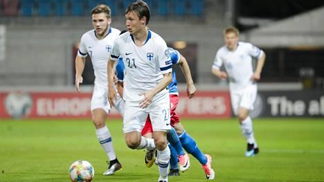 Lassi Lappalainen ei pelaa Bosnia-Hertsegovinaa vastaan.