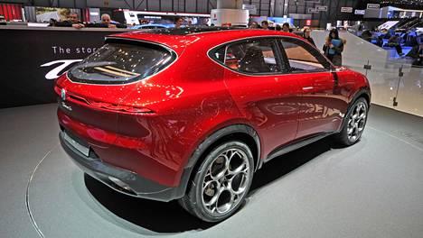 Tonalen konseptimalli oli esillä Geneven autonäyttelyssä 2019.