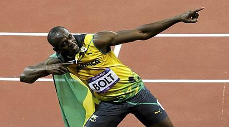 USain Boltia ei nähty tällä kertaa Tukholmassa.