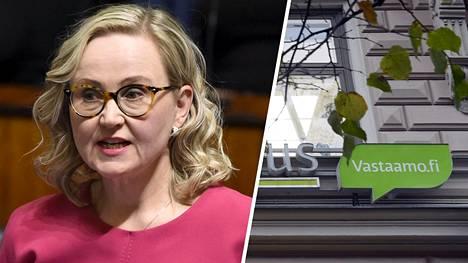 Kansanedustaja Eeva-Johanna Eloranta (sd) ilmoittaa olevansa yksi Psykoterapiakeskus Vastaamon tietomurron uhreista