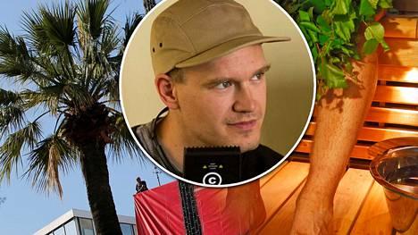 Palmujen ja punaisen maton vastapainoksi sauna. Cannesin elokuvajuhlien kilpailusarjaan päässeen Katto -elokuvan tuottaja aikoo roudata juhlille saunan ja ohjaaja Teppo Airaksinen (kuvassa) aikoo ottaa löylyt.