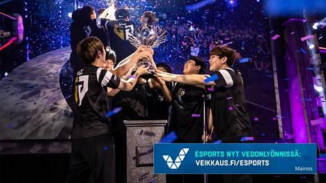 Korealainen Gen.G-joukkue voitti marraskuun alussa pelatut MM-kisat.