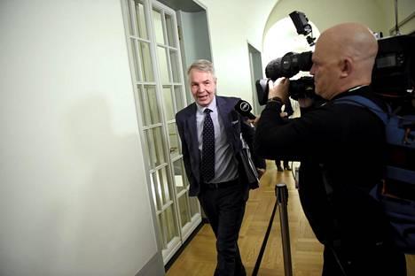 Valtioneuvoston ulko- ja turvallisuuspoliittinen selonteko laadittiin ulkoministeri Pekka Haaviston johdolla.