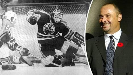 Grant Fuhr voitti NHL:ssä peräti viisi Stanley Cupia Edmonton Oilersin maalivahtina.