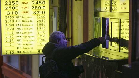 Kansainväliset luottoluokittajat eivät usko Ukrainan selviävän veloistaan.