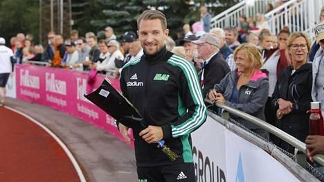 Linus Thörnblad voitti ensimmäisen Ruotsin mestaruutensa Eskilstunassa viime lauantaina.