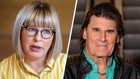 Aino-Kaisa Pekonen ja Frederik.