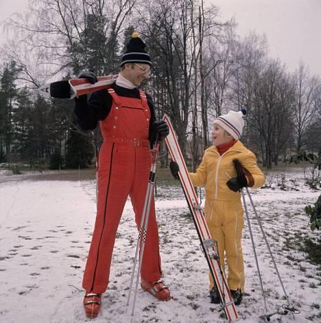 Tässä talvimuotia vuodelta 1973.