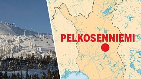 Lapin pienin kunta on Pelkosenniemi. Siellä on alle tuhat asukasta.