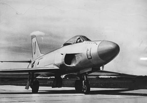 Saab A32 Lansen -lentokone.