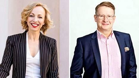KVKL:n toimitusjohtaja Maria-Elena Ehrnrooth ja Sp-Kodin toimitusjohtaja Jukka Rantanen.