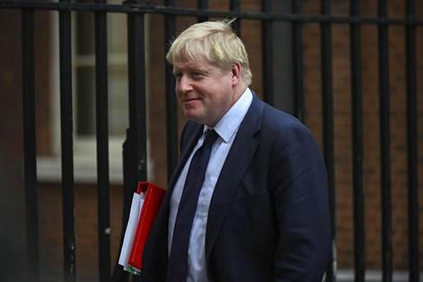 Ulkoministeri Boris Johnson ei ollut läsnä gaalaillallisella.