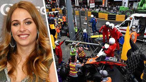 Sophia Flörsch päätyi loppuvuodesta 2018 kammottavaan onnettomuuteen.
