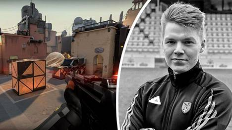 Jesse Terävä, 25, työskentelee yrittäjänä ja haaveilee urasta kilpapelaajana. Nyt hän on lähellä odotettua läpimurtoa. Terävä on aiemmin pelannut Counter-Strikea SJK:ssa.
