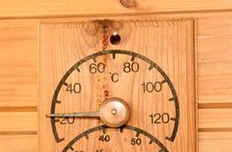 Roomalaisen saunan lämpö jäi suomalaiseen makuun liian alhaiseksi.
