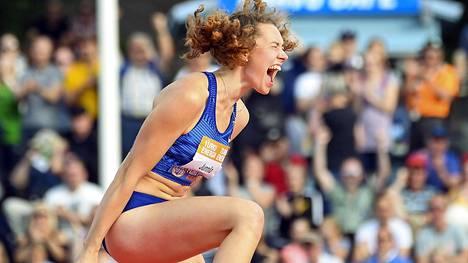 Ella Junnila on korkeuden uusi SE-nainen.