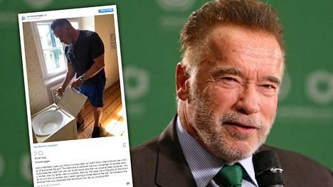 Arnold Schwarzenegger kasvoi pikkukylässä Itävallassa.
