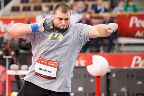 Haratyk pyrkii jatkamaan Puolan kuulamahtia. Tomasz Majewski vei voiton Pekingissä 2008 ja Lontoossa 2012.
