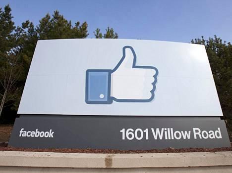 Facebookin pääkonttori on sittemmin muuttanut.