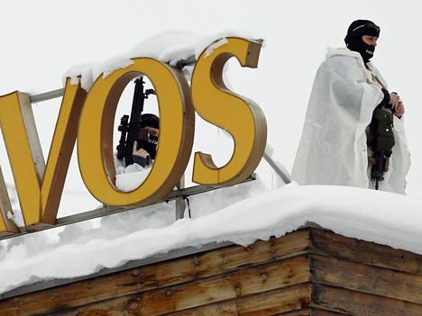 Turvatoimet Davosissa ovat tänä vuonna tiukemmat kuin kertaakaan aiemmin