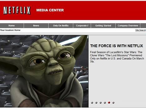 Netflix uskoo voiman olevan puolellaan.