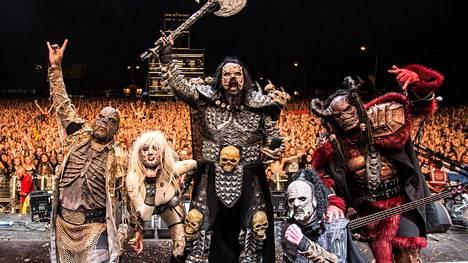 Lordi on suosittu Euroopassa.