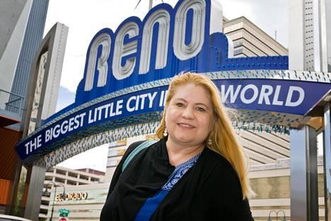 –Reno on hyvällä tavalla outo, Pia Laine kehaisee kotikaupunkiaan.