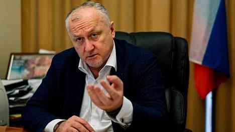Rusadan pääjohtajan Juri Ganus kuvattuna lokakuussa 2019.