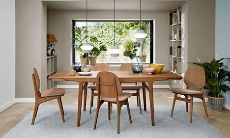 Ruokapöytä on yksi kodin isoja hankintoja.