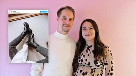 Tino ja Riikka ovat sekä perheyrittäjiä, pariskunta että työkaverit. Tamperelainen kenkämerkki on valloittanut maailmaa pari viime vuotta.