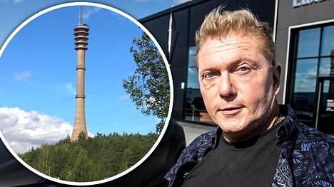 Idealinko Vesa Keskinen aikoo ostaa Turun korkeimman rakennuksen, 134,6 metriä korkean linkkitornin.
