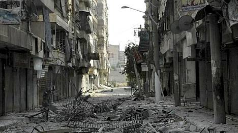 Salahaddinin kaupunginosassa on käyty rajuja taisteluja viime päivien aikana.