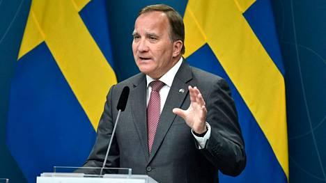 Stefan Löfvenin hallituksen luottamuksesta äänestettiin maanantaina.