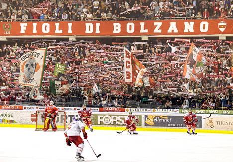 Pohjois-Italian Bolzano on kiekkokaupunki.