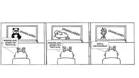 Vallas ja Kalliomäki tuovat sarjakuvassaan esiin ympäristöasioita ja niihin liittyviä yhteiskunnallisia ongelmia.