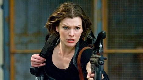 Resident Evil: The Final Chapter -elokuvassa pääosaa näyttelee Milla Jovovich.