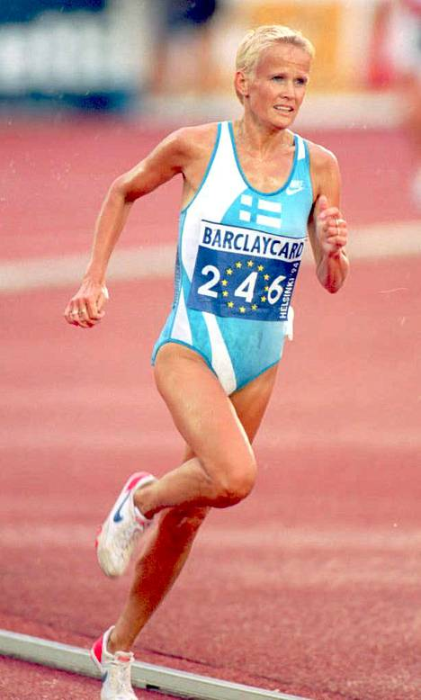 Päivi Tikkanen oli 1980–90-lukujen huippujuoksija niin radalla kuin maantielläkin.