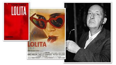 Vladimir Nabokovin kirja julkaistiin suomeksi vuonna 1959. Kirjasta on tehty myös kaksi elokuvaa. Kuvassa Stanley Kubrickin elokuvan juliste vuodelta 1962.