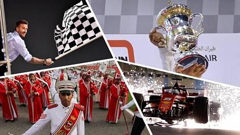 Pelkkää illuusiota? Bahrainin F1-juhlalla on valtava merkitys maan vallanpitäjien imagopelissä. Formulahuuman taustalla ovat vuosia jatkunut sortopolitiikka ja lukuisat ihmisoikeusrikkomukset.