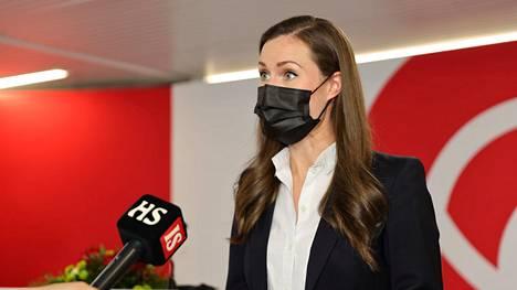 Sanna Marin on pettynyt Sdp:n äänestystulokseen.